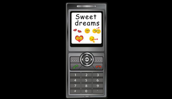 flirty emoji texts for him